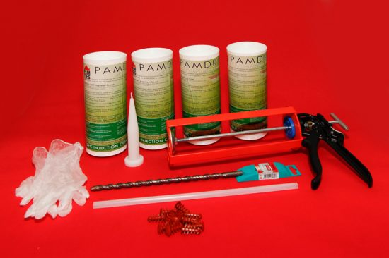 Damp Proofing Injection Cream Kit – 4 x 1 Litre 1