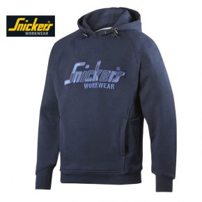 Snickers 2824 Camo Hoodie - Navy 4