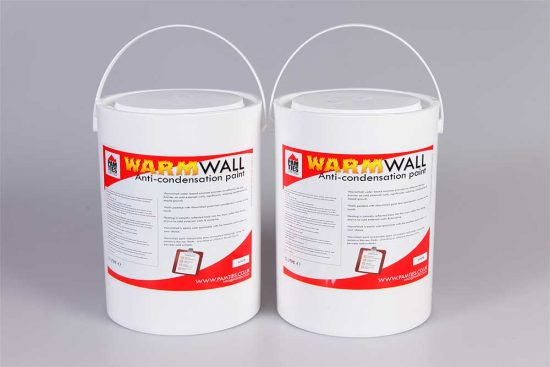 WarmWall Anti-Condensation Paint 2 X 2.5 Litre 1