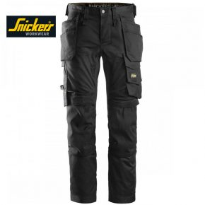 Snickers 6241 Trouser Allround WorkStretch Trouser - Black 2