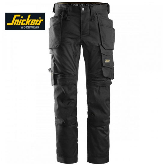 Snickers 6241 Trouser Allround WorkStretch Trouser - Black 1