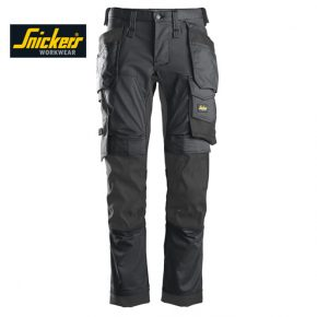 Snickers 6241 Trouser Allround Work Stretch Trouser - Steel Grey 3