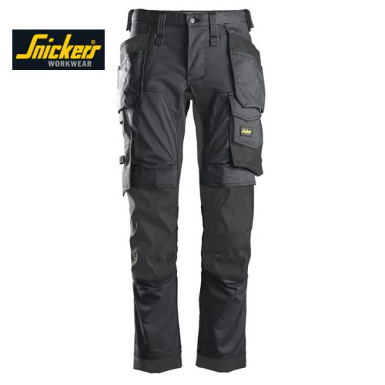 Snickers 6241 Trouser Allround Work Stretch Trouser - Steel Grey 1