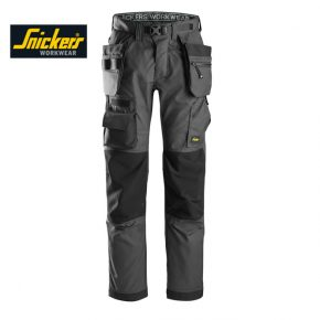 Snickers 6923 Floorlayer Trousers + Holster (Grey)