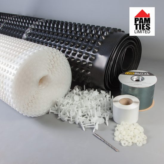 Basement Tanking Mesh Membrane Kit – Double Pump Fully Auto 4m x 5m