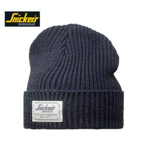 Snickers Beanie Hat 9023 - Navy 1