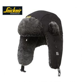 Snickers RuffWork Heater Hat 9007 - Black 2