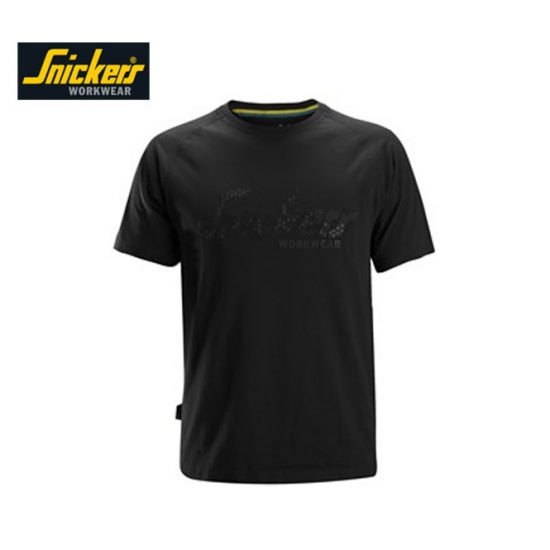 Snickers T-shirt 2580 - Black