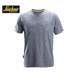 Snickers T-shirt 2580 - Blue Melange