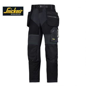 Snickers 6902 Trousers + Holster Pockets - Black 2