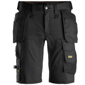 Snickers Shorts 6141-Snickers-Allround-Slim-Shorts-Black