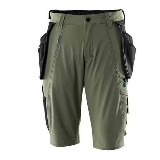 Mascot Shorts 17149 Holster Pockets – Moss Green