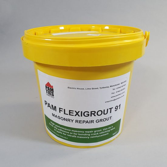 PAM Flexigrout 91 - Masonry Repair Grout 1