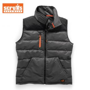 Scruffs Bodywarmer - Black / Charcoal 2