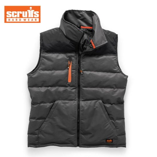 Scruffs Bodywarmer - Black / Charcoal 1
