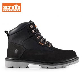 Scruffs Safety Boots Twister - Black 1