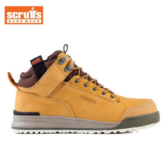 Scruffs Switchback Safety Boot - Tan 1