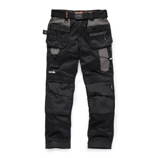 Scruffs Trousers Pro Flex Plus Holster Graphite Graphite