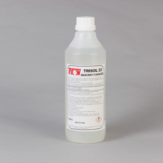 Trisol 23 - High Strength Masonry Dry Rot Treatment 1