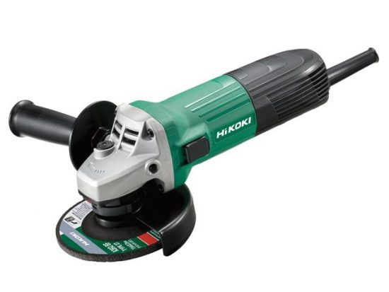 Hikoki G12STX Angle Grinder 110v with 300x 115mm Dronco G-QZ Quality 115mm Flap Discs 1