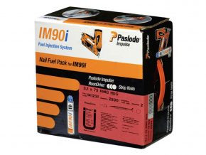 Paslode 141076 3.1mm x 90mm ST BR Nail Fuel Pack x 2200 + 2 fuel cells 2