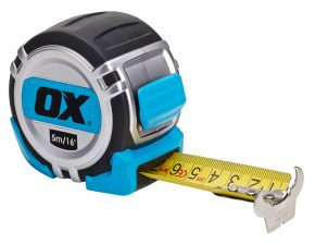 OX Pro Metric/Imperial 5m Tape Measure - OX-P028705 2