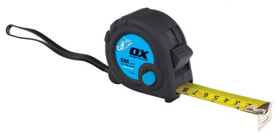 OX Trade 5m Tape Measure - OX-T020605 1