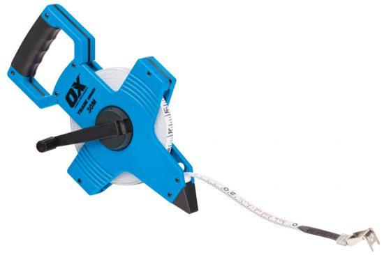 OX Trade Open Reel Tape Measure - 30m / 100ft - OX-T023503 1
