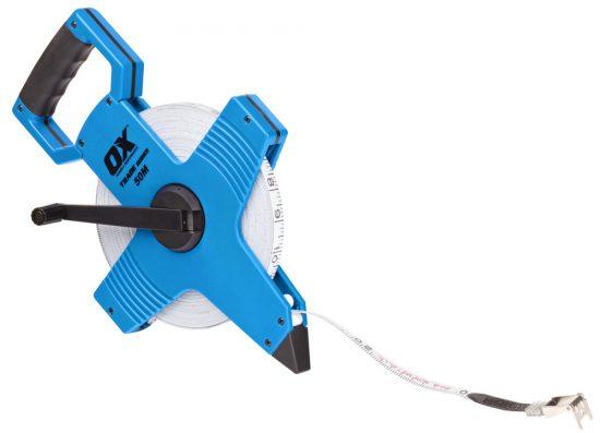 OX Trade Open Reel Tape Measure - 50m / 165ft - OX-T023505 1
