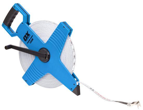 OX Trade Open Reel Tape Measure - 100m / 330ft - OX-T023510 1