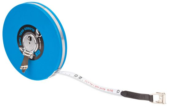 OX Trade Closed Reel Tape Measure - 30m / 100ft - OX-T023603 1