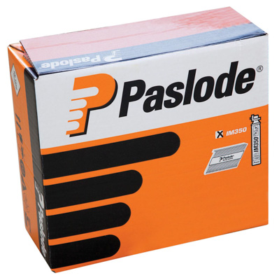 Paslode 2.8mm x 63mm RG BR Nail Fuel Pack 3300 per box + 3 fuel cells 1
