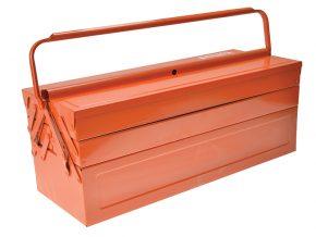 Metal Cantilever Tool Box 22in - BAH3149OR 2