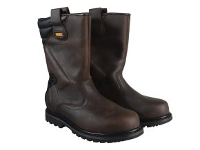 Classic Rigger Brown Safety Boots UK 9 Euro 43 - DEWRIGGER9 7