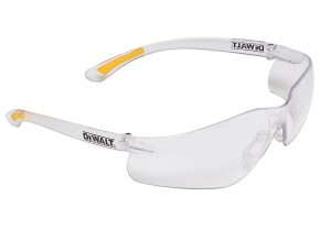 Contractor Pro ToughCoat™ Safety Glasses - Clear - DEWSGCPC 8