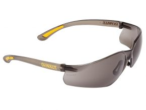 Contractor Pro ToughCoat™ Safety Glasses - Smoke - DEWSGCPS 6