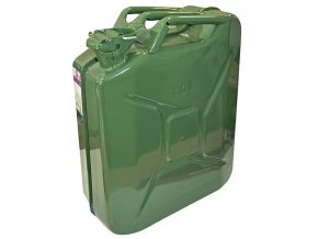 Green Jerry Can - Metal 20 Litre - FAIAUJERRY20 5