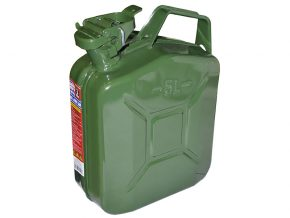 Green Jerry Can - Metal 5 Litre - FAIAUJERRY5 12