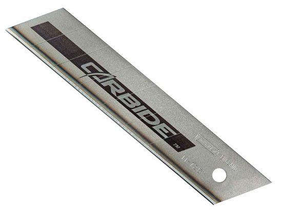 Tungsten Carbide Snap Off Blades 25mm Pack of 20 1