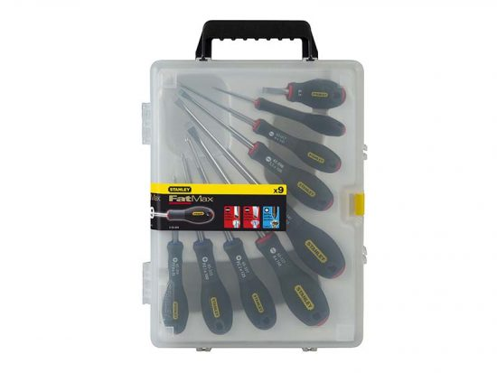 FatMax® Screwdriver Parallel/Flared/Pozi Set of 9 1