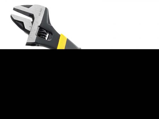 MaxSteel Adjustable Wrench 200mm (8in) 1